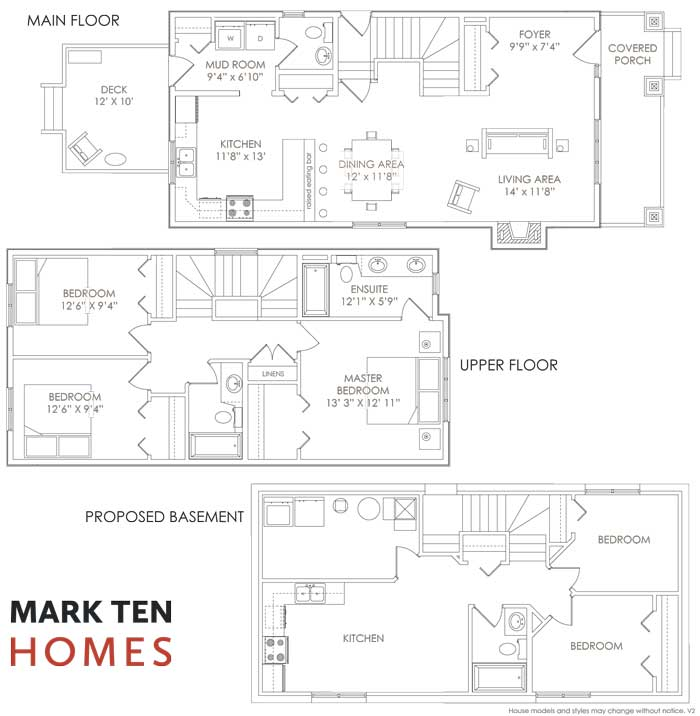 With Finished Two Bedroom Basement Suite
